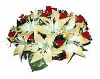 yapay karisik çiçek sepeti   Bursa çiçekçi telefonları