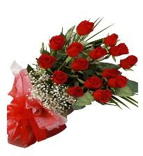 15 kırmızı gül buketi sevgiliye özel  Bursa çiçek online çiçek siparişi