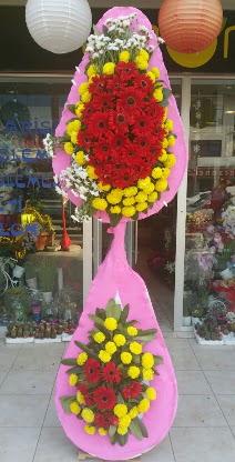 Çift katlı düğün nikah açılış çiçek modeli  Bursa çiçek gönderme