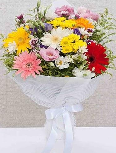 Karışık Mevsim Buketleri  Bursa online çiçekçi , çiçek siparişi