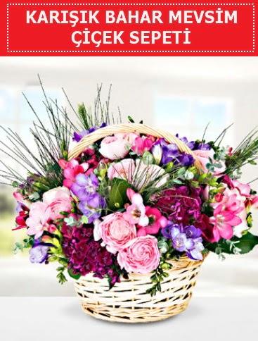 Karışık mevsim bahar çiçekleri  Bursa online çiçekçi , çiçek siparişi