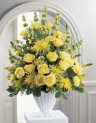 Bursa çiçek gönderme sitemiz güvenlidir  sari güllerden sebboy tanzim çiçek siparisi