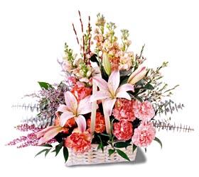 Bursa çiçek gönderme sitemiz güvenlidir  mevsim çiçekleri sepeti özel tanzim