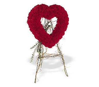 Bursa çiçek yolla  karanfillerden kalp pano