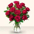 Bursa çiçek servisi , çiçekçi adresleri  10 adet gül cam yada mika vazo da