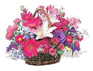 küçük karisik özel sepet   Bursa internetten çiçek siparişi