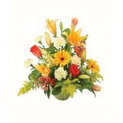 karisik renkli çiçekler tanzim   Bursa çiçek online çiçek siparişi