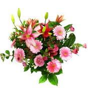 lilyum ve gerbera çiçekleri - çiçek seçimi -  Bursa çiçek mağazası , çiçekçi adresleri