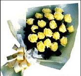 sari güllerden sade buket  Bursa yurtiçi ve yurtdışı çiçek siparişi