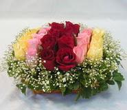 15 adet reprenkli gül sepeti   Bursa çiçek servisi , çiçekçi adresleri