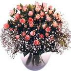 büyük cam fanusta güller   Bursa çiçek servisi , çiçekçi adresleri