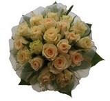 12 adet sari güllerden buket   Bursa çiçekçi mağazası