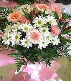 Bursa çiçek yolla , çiçek gönder , çiçekçi   karma büyük ve gösterisli mevsim demeti