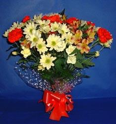 Bursa çiçek yolla , çiçek gönder , çiçekçi   kir çiçekleri buketi mevsim demeti halinde