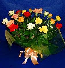 Bursa çiçek yolla , çiçek gönder , çiçekçi   13 adet karisik renkli güller