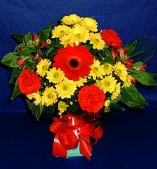 Bursa online çiçekçi , çiçek siparişi  sade hos orta boy karisik demet çiçek