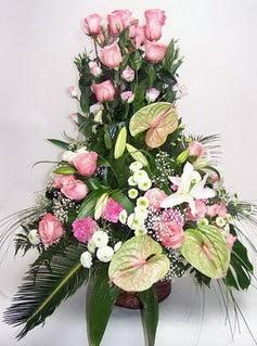 Bursa online çiçekçi , çiçek siparişi  özel üstü süper aranjman