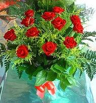 12 adet gül buketi  Bursa internetten çiçek satışı