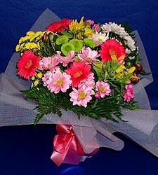 karisik sade mevsim demetligi   Bursa çiçek siparişi sitesi
