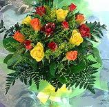 13 adet karisik gül buketi demeti   Bursa çiçekçi mağazası