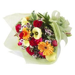 karisik mevsim buketi   Bursa 14 şubat sevgililer günü çiçek