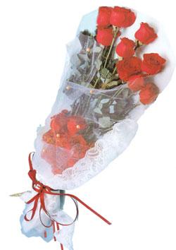 11 adet kirmizi güller buket tanzimi   Bursa çiçek gönderme sitemiz güvenlidir