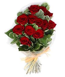Bursa anneler günü çiçek yolla  9 lu kirmizi gül buketi.