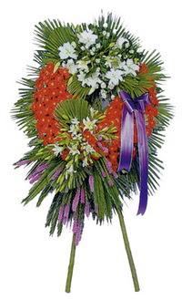 Bursa ucuz çiçek gönder  cenaze çelengi