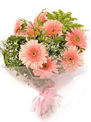 Bursa güvenli kaliteli hızlı çiçek  11 adet gerbera çiçegi buketi