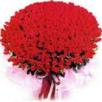 Bursa 14 şubat sevgililer günü çiçek  1001 adet kirmizi gülden çiçek tanzimi