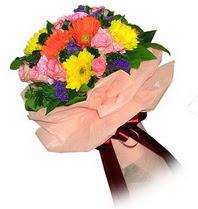 Bursa İnternetten çiçek siparişi  Karisik mevsim çiçeklerinden demet