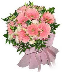 Bursa hediye çiçek yolla  Karisik mevsim çiçeklerinden demet