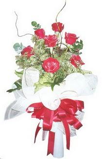 Bursa çiçek gönderme sitemiz güvenlidir  7 adet kirmizi gül buketi