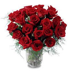 Bursa çiçek online çiçek siparişi  11 adet kirmizi gül cam yada mika vazo içerisinde
