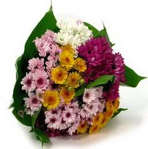 Bursa kaliteli taze ve ucuz çiçekler  Karisik kir çiçekleri demeti herkeze