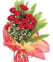 11 adet kaliteli görsel kirmizi gül  Bursa güvenli kaliteli hızlı çiçek