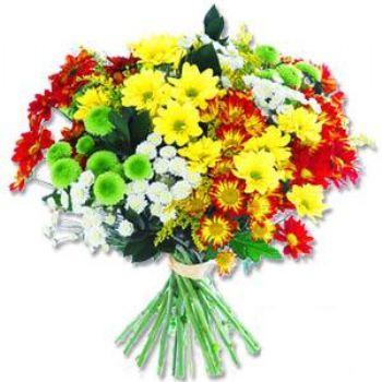 Kir çiçeklerinden buket modeli  Bursa çiçek , çiçekçi , çiçekçilik