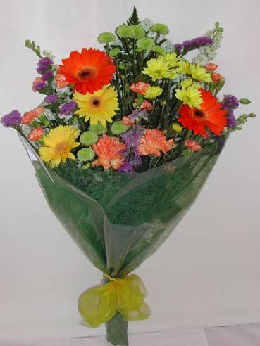 karisik kir çiçek buketi çiçek gönderimi  Bursa hediye çiçek yolla