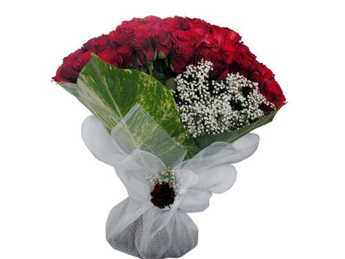 25 adet kirmizi gül görsel çiçek modeli  Bursa çiçek siparişi vermek