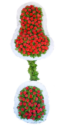Dügün nikah açilis çiçekleri sepet modeli  Bursa ucuz çiçek gönder
