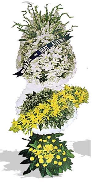 Dügün nikah açilis çiçekleri sepet modeli  Bursa yurtiçi ve yurtdışı çiçek siparişi