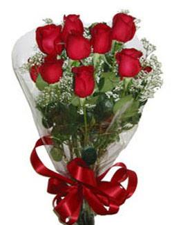 Çiçek sade gül buketi 7 güllü buket  Bursa çiçek , çiçekçi , çiçekçilik