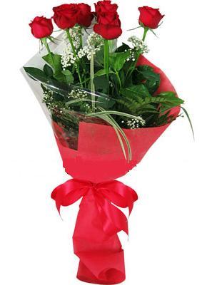 7 adet kirmizi gül buketi  Bursa anneler günü çiçek yolla