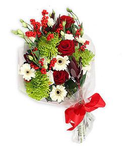 Karisik mevsim buketi çiçek tanzimi  Bursa çiçekçi telefonları