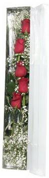 Bursa çiçek gönderme sitemiz güvenlidir   5 adet gülden kutu güller