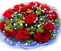 9 adet kirmizi güllerden buket  Bursa kaliteli taze ve ucuz çiçekler