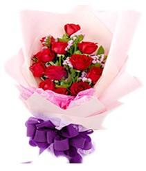 7 gülden kirmizi gül buketi sevenler alsin  Bursa çiçek online çiçek siparişi