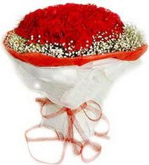 Bursa çiçek gönderme  41 adet kirmizi gül buketi