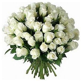 Bursa çiçek siparişi vermek  33 adet beyaz gül buketi