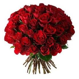 Bursa yurtiçi ve yurtdışı çiçek siparişi  33 adet kırmızı gül buketi